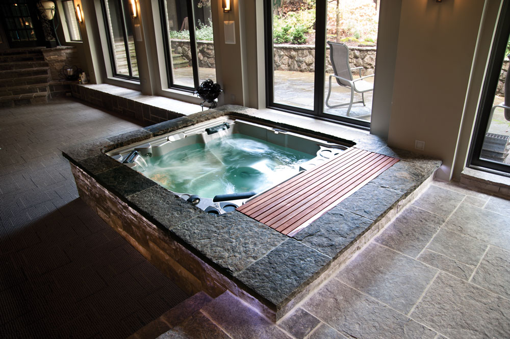Sleep better with a Hydropool hot tubs Stoke
