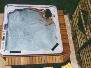 The World's only self-cleaning hot tubs