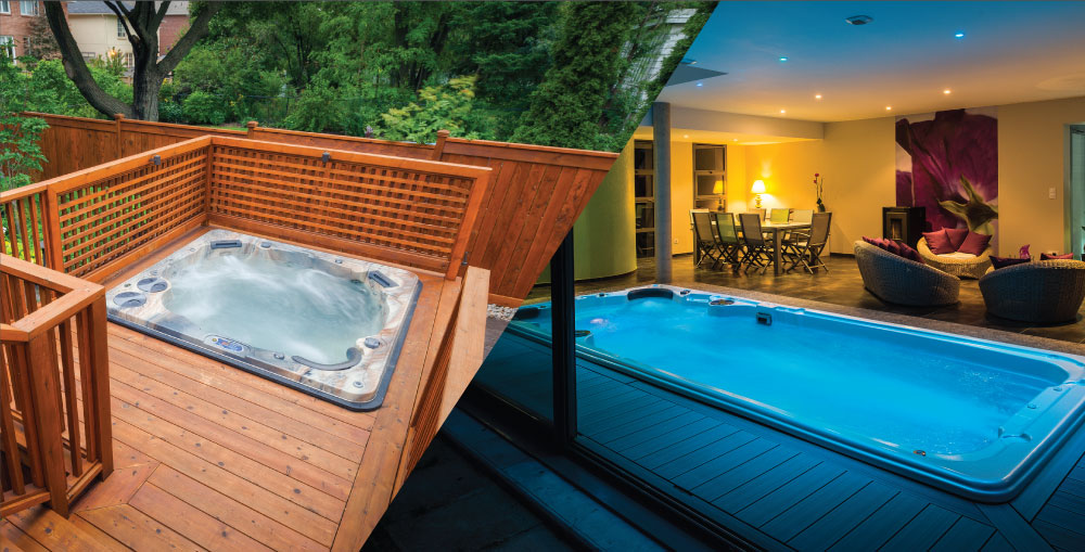 Hot Tub vs Swim Spa - Hydropool Staffordshire