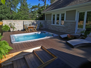 Installing your swim spa